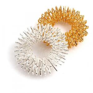 ماساژور حلقوی انگشت سوجوک SuJok Ring (ست طلایی و نقره ای)