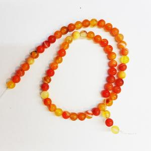 سنگ عقیق زرد ـ نارنجی
